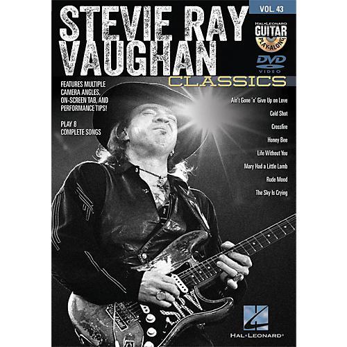 Hal Leonard Stevie Ray Vaughan Classics - Guitar Play-Along DVD Volume 43-thumbnail