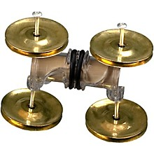 RhythmTech Stick Jingler Brass Jingles