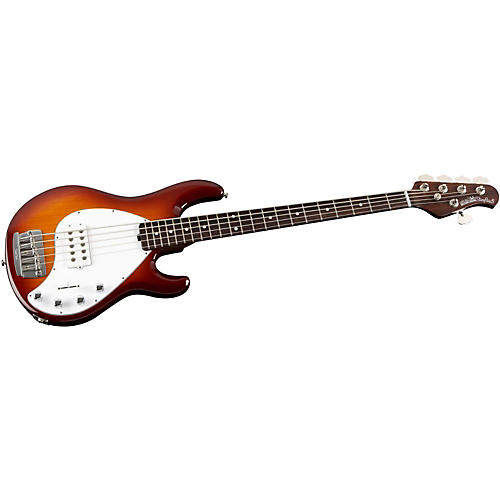 Ernie Ball Music Man StingRay 5 H 5-String Electric Bass Guitar with All Rosewood Neck-thumbnail