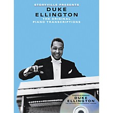 Music Sales Storyville Presents Duke Ellington Artist Transcriptions Series Softcover with CD