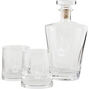 Fender Stratocaster 60th Anniversary Glass Decanter Set