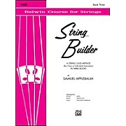 Alfred String Builder Violin Book III
