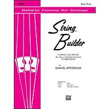 Alfred String Builder Violin Book III