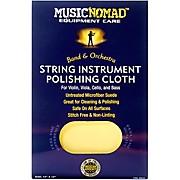 Music Nomad String Instrument Microfiber Polishing Cloth for Violin, Viola, Cello & Bass