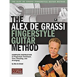 String Letter Publishing The Alex De Grassi Fingerstyle Guitar Method Book/CD (696637)