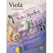 Alfred String Note Speller Viola