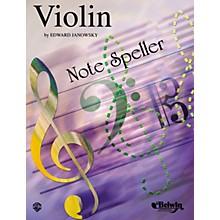 Alfred String Note Speller Violin