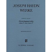 G. Henle Verlag String Quartets, Op. 9 and Op. 17 Henle Edition Series Softcover