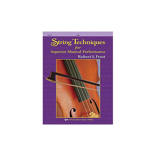 KJOS String Techniques for Superior Musical Performance Cello-thumbnail