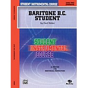 Alfred Student Instrumental Course Baritone (B.C.) Student Level II