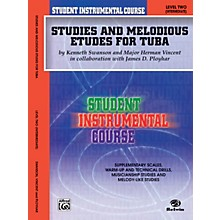 Alfred Student Instrumental Course Studies and Melodious Etudes for Tuba Level II