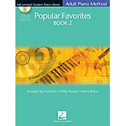 Hal Leonard Student Piano Library Adult Method Popular Favorites Book 2 Book/CD