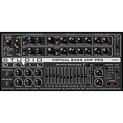 Studio Devil Virtual Bass Amp Pro Software Download (SD-VBAP1-DL)