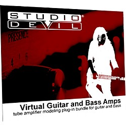 Studio Devil Virtual Guitar and Bass Amp Bundle (VGuitarBass)