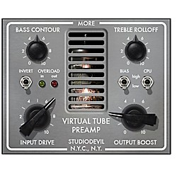 Studio Devil Virtual Tube Preamp Software Download (SD-VTP1-DL)