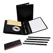 "Marlo Plastics Studio/Director Legacy Premium Folder 12"" X 13"" - Black"