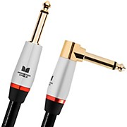 Monster Cable Studio Pro 2000 1/4 Inch  Angled to Straight Instrument Cable