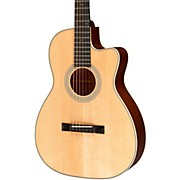 Recording King Studio Series 12 Fret OO Acoustic Guitar with Cutaway