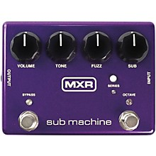 MXR Sub Machine Octave Fuzz Guitar Effects Pedal