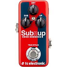 TC Electronic Sub 'N' Up Mini Octaver Effect Pedal