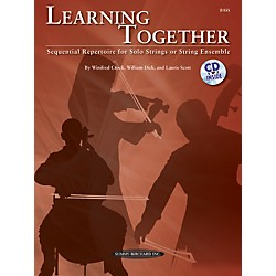 Summy-Birchard Learning Together for Upright Bass (Book/CD) (00-34517)