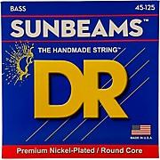 DR Strings Sunbeams NMR5-45 Medium 5-String Bass Strings .125 Low B