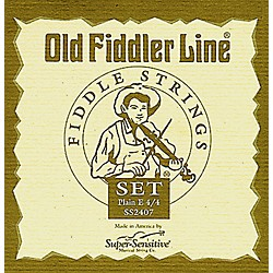 Super Sensitive Old Fiddler Violin Strings (2407)