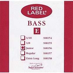 Super Sensitive Red Label 1/4 Size Double Bass Strings (8156)