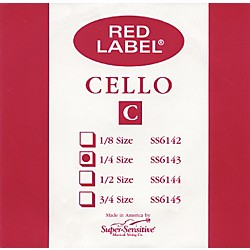 Super Sensitive Red Label Cello C String (6143)