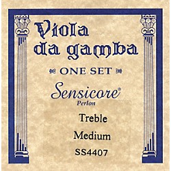 Super Sensitive Sensicore Treble Gamba Strings (4407)