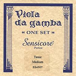 Super Sensitive Sensicore Viola de Tenor Gamba Strings (4507)