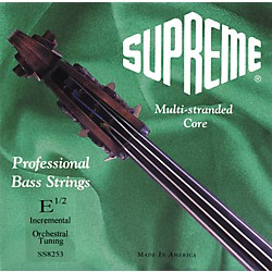 Super Sensitive Supreme Bass Strings (8253)