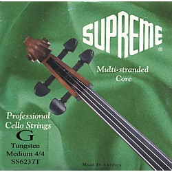 Super Sensitive Supreme Cello Strings (6237T)