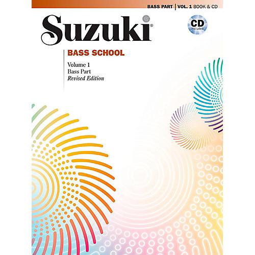 Suzuki Suzuki Bass School Book & CD Volume 1 (Revised)-thumbnail