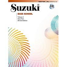 Suzuki Suzuki Bass School Book & CD Volume 2 (Revised)