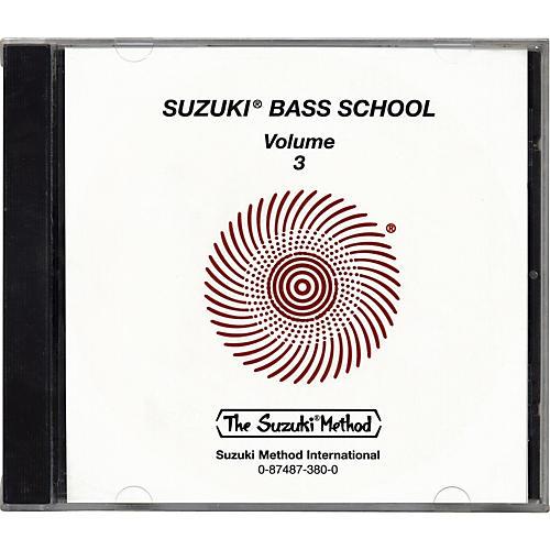 Alfred Suzuki Bass School CD Volume 3-thumbnail