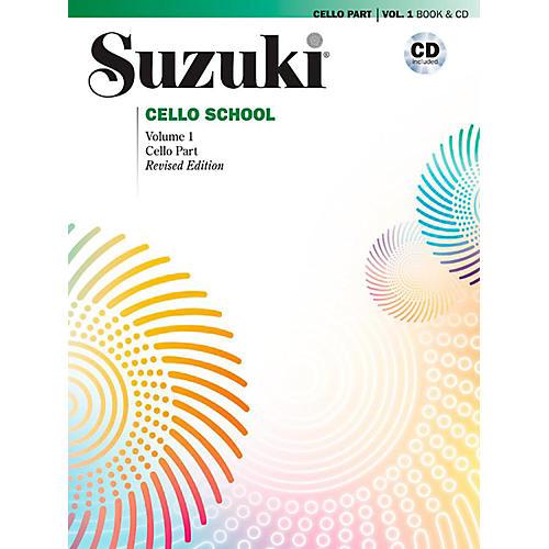 Alfred Suzuki Cello School Book & CD Volume 1 (Revised)-thumbnail
