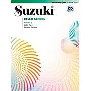 Suzuki Suzuki Cello School Book & CD Volume 3 (Revised)