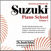 Suzuki Suzuki Piano School CD Volume 1