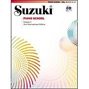 Suzuki Suzuki Piano School New International Edition Piano Book and CD Volume 3