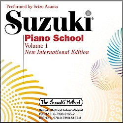 Suzuki Suzuki Piano School New International Edition CD Volume 1 (00-30031)