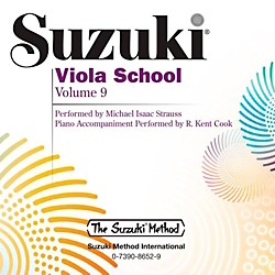 Suzuki Suzuki Viola School CD Volume 9 (00-38940)