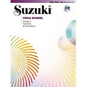 Suzuki Suzuki Viola School Viola Part & CD, Volume 6 Book & CD (Revised)