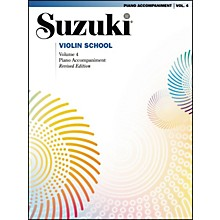 Suzuki Suzuki Violin School Piano Acc. Volume 4