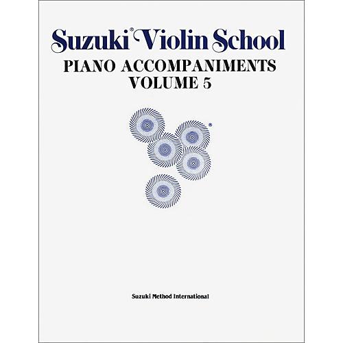Alfred Suzuki Violin School Piano Accompaniment Volume 5 (Book)