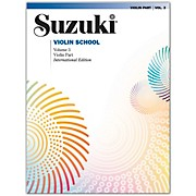 Alfred Suzuki Violin School Violin Part Volume 3
