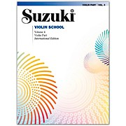 Alfred Suzuki Violin School Violin Part Volume 4