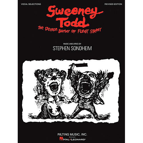 Hal Leonard Sweeney Todd Vocal Selections-thumbnail