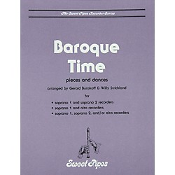 Sweet Pipes Baroque Time For Recorder (SP2334)