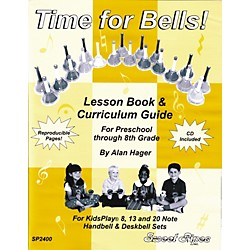 Sweet Pipes Time for Bells - Handbell Lesson Book (SP2400)